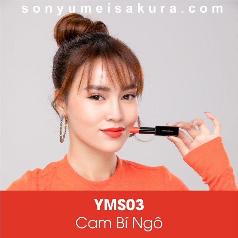 Son Yumeisakura Pumpkin Orange - Cam Bí Ngô - Hoạt Bát, Sôi Nổi
