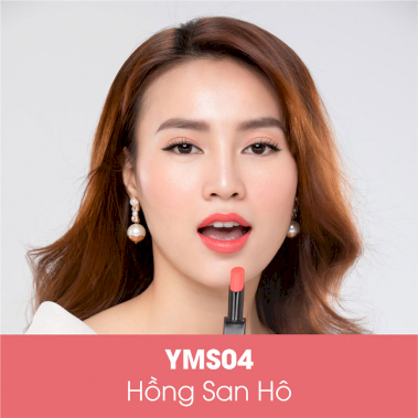 Son Dưỡng Collagen YMS04 - Coral Pink